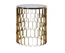 Výnimočný príručný stolík v štýle Art-Deco