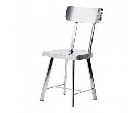 Art-deco jedálenská stolička Cromia 89cm