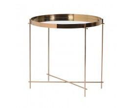 Kovový okrúhly príručný stolík Genesis