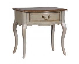 Štýlový vintage nočný stolík Sienna