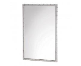 Dizajnové nerezové zrkadlo 90cm