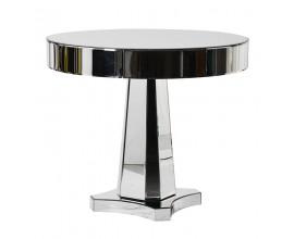 Štýlový zrkadlový okrúhly jedálenský stôl Granada