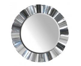 Štýlové okrúhle vlnité zrkadlo Granada