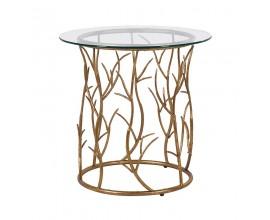 Dizajnový príručný stolík v štýle Art-Deco