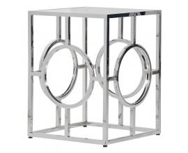 Dizajnový Art-Deco príručný stolík VERNON