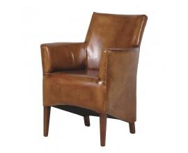 Luxusná kožená stolička z pravej talianskej kože