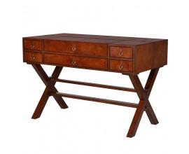 Exkluzívny kožený písací stôl Pellia
