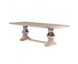 Luxusný jedálenský stôl z masívu Braddock 240cm