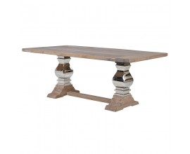 Luxusný jedálenský stôl z masívu Braddock 200cm