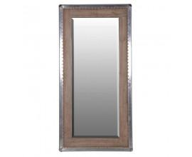 Masívne industriálne nástenné zrkadlo Amberley 181cm