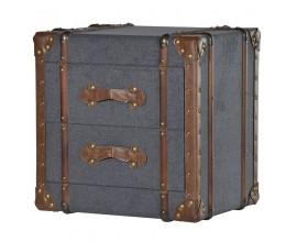 Koloniálny úložný box WARRINGTON 52cm
