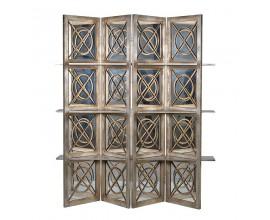 Exkluzívna zrkadlová zástena Oro so 6 poličkami