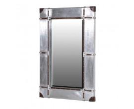Štýlové industriálne nástenné zrkadlo BESSEMER