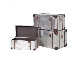 Set troch štýlových industriálnych boxov BESSEMER