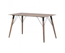 Štýlový jedálenský stôl Minat