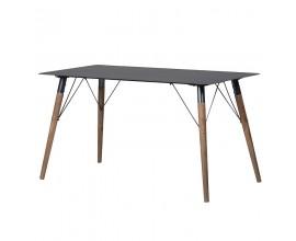 Dizajnový industriálny jedálenský stôl Anselm