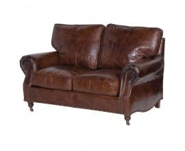Luxusná kožená vintage sedačka Clifford 150cm