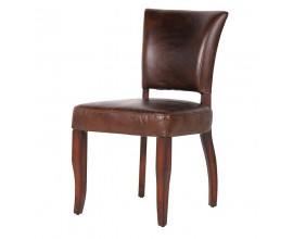 Luxusná jedálenská stolička Paulette kožená