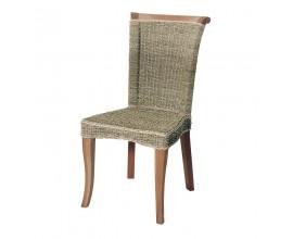 Dizajnová jedálenská stolička z masívneho dreva Ariel