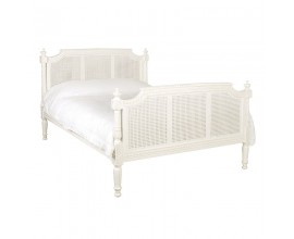 Štýlová provensálska posteľ z masívu Antic Blanc 210cm