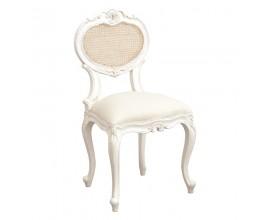 Štýlová vintage stolička Antic Blanc