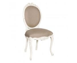 Dizajnová provensálska stolička Antic Blanc