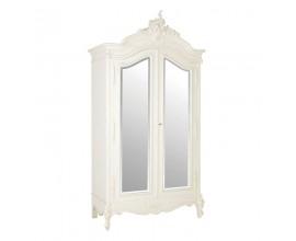 Dizajnová zrkadlová skriňa Antic Blanc