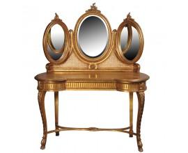 Luxusný antický toaletný stolík Roi Gilt