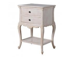 Štýlová vintage nočný stolík Miel Campo