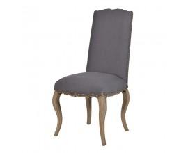 Štýlová jedálenská stolička Marvene šedá