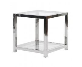 Luxusný art-deco príručný stolík Cromia