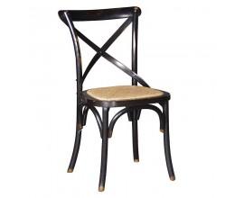 Masívna vintage stolička z ohýbaného dreva Maurice