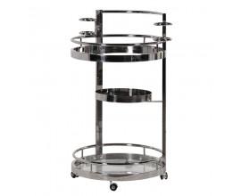 Luxusný art-deco príručný stolík Cromia 98cm