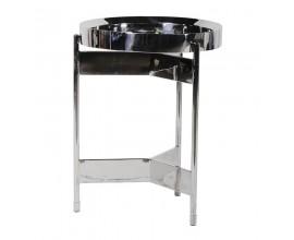 Luxusný art-deco príručný stolík Cromia 62cm