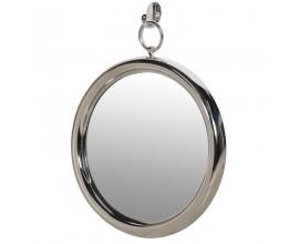 Dizajnové okrúhle nástenné zrkadlo