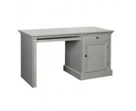 Dizajnový vidiecky písací stôl Riva Gris