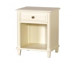 Dizajnový provence nočný stolík Riva Crema