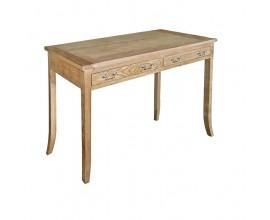 Štýlový koloniálny písací stôl Chene Vieux