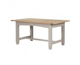 Štýlový rozkladací vidiecky jedálenský stôl Wexford