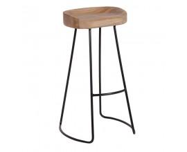 Dizajnová koloniálna barová stolička Chene Vieux