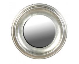 Luxusné zrkadlo GLORIADO strieborné