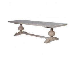 Štýlový vintage jedálenský stôl NATURE