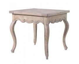 Štýlový vintage príručný stolík NATURE
