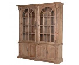 Luxusná vidiecka dvojitá knižnica KOLONIAL zmasívneho dreva