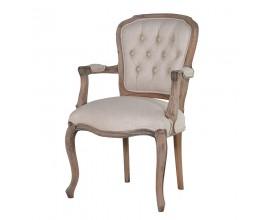Štýlová vintage stolička KOLONIAL svetlé drevo