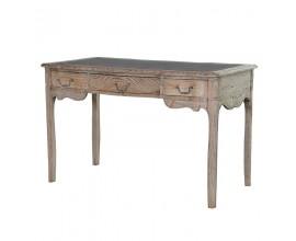 Luxusný vintage písací stôl z masívu KOLONIAL
