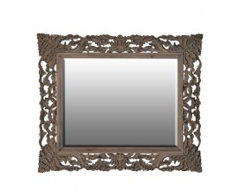 Luxusné masívne vyrezávané zrkadlo KOLONIAL