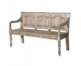 Dizajnová vintage lavica KOLONIAL