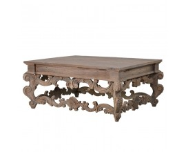 Luxusný konferenčný stolík z masívu KOLONIAL