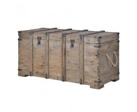 Štýlová vintage truhlica KOLONIAL z masívneho dreva
